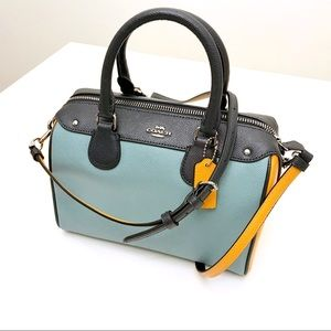 Coach Mini Bennet Satchel in Colorblock